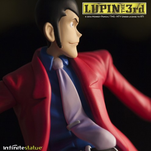 Statua Edizione Limitata Lupin III in resina dipinta a mano - 10