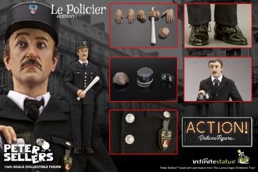 PETER SELLERS LE POLICIER 1:6 ACTION FIGURE WEB EXCLUSIVE - 6