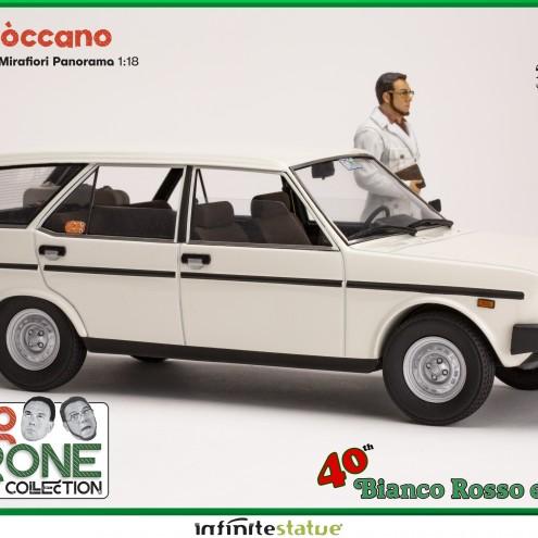 Furio con 131 Panorama 1:18 Resin Car statue - 2