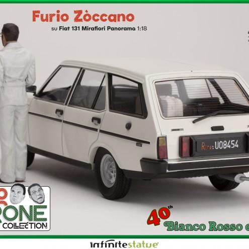 Furio with 131 Panorama 1:18 Resin Car WEB EXCLUSIVE - 6