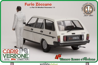 Furio con 131 Panorama 1:18 Resin Car statue - 6