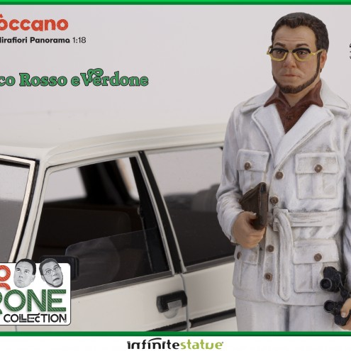 Furio con 131 Panorama 1:18 Resin Car statue -7