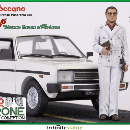 Furio con 131 Panorama 1:18 Resin Car statue -8