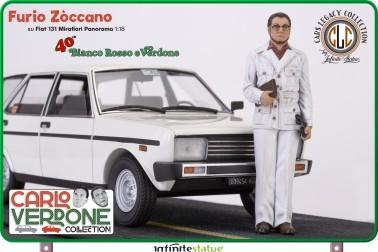 Furio with 131 Panorama 1:18 Resin Car WEB EXCLUSIVE - 8