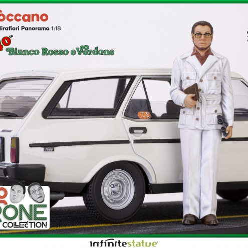 Furio con 131 Panorama 1:18 Resin Car statue -9