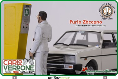 Furio con 131 Panorama 1:18 Resin Car statue -10