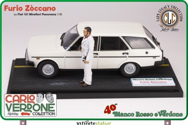 Furio con 131 Panorama 1:18 Resin Car statue - 11