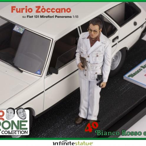 Furio con 131 Panorama 1:18 Resin Car statue -12