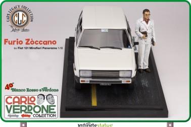 Furio con 131 Panorama 1:18 Resin Car statue -14