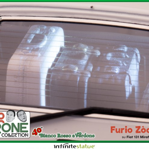 Furio con 131 Panorama 1:18 Resin Car statue -15