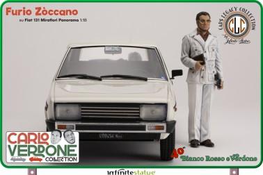 Furio con 131 Panorama 1:18 Resin Car statue -16