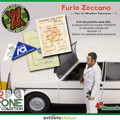 Furio con 131 Panorama 1:18 Resin Car statue -17