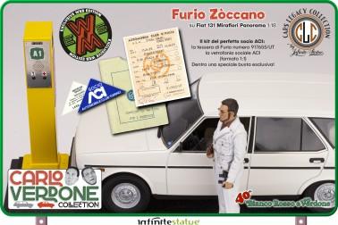 Furio with 131 Panorama 1:18 Resin Car WEB EXCLUSIVE - 17