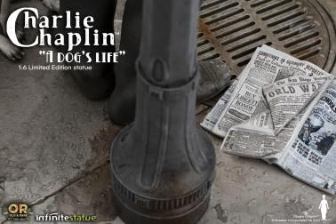 CHARLIE CHAPLIN W/LIGHT OLD&RARE STATUE - 5