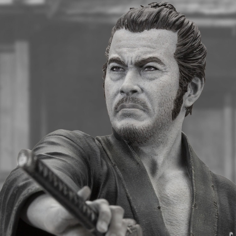 Toshiro Mifune 1/6 Limited-Edition resin statue- 1