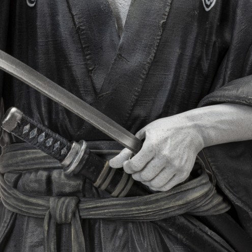 Toshiro Mifune Old&Rare 1/6 Resin Statue -particolare