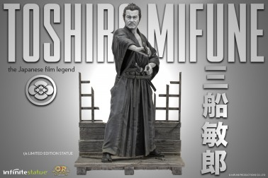 Toshiro Mifune 1/6 Limited-Edition resin statue-3