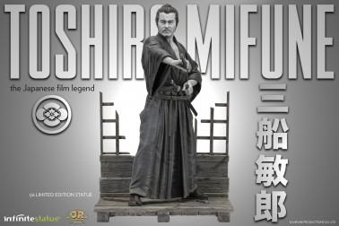 Toshiro Mifune Old&Rare 1/6 Resin Statue - 3