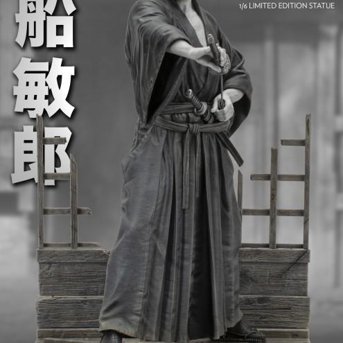 Statua di Toshiro Mifune 1/6 Limited Edition