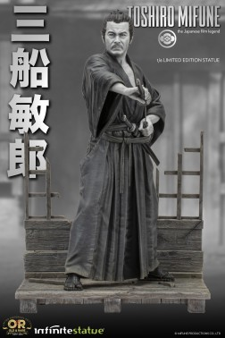 Toshiro Mifune 1/6 Limited-Edition resin statue-4