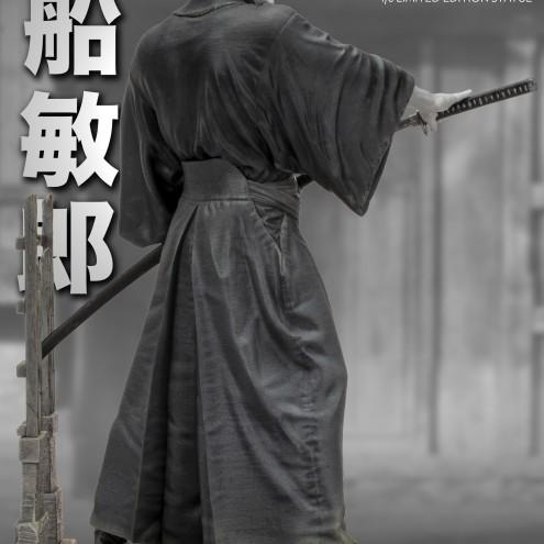 Toshiro Mifune 1/6 Limited-Edition resin statue-6