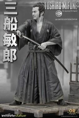 Toshiro Mifune Old&Rare 1/6 Resin Statue - 7