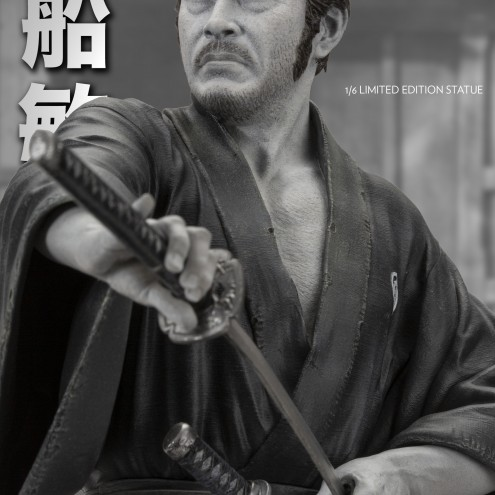 Toshiro Mifune 1/6 Limited-Edition resin statue-8