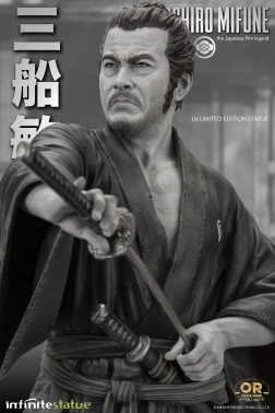 Toshiro Mifune Old&Rare 1/6 Resin Statue - dettaglio