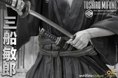 Toshiro Mifune 1/6 Limited-Edition resin statue- 9