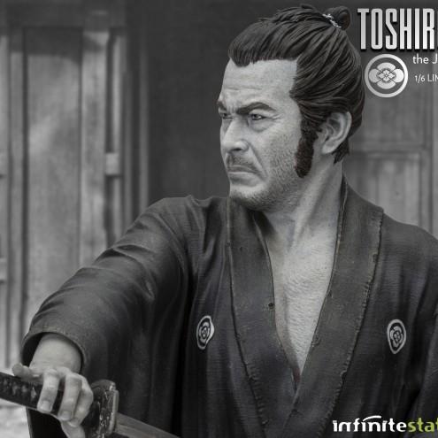 Toshiro Mifune 1/6 Limited-Edition resin statue-10