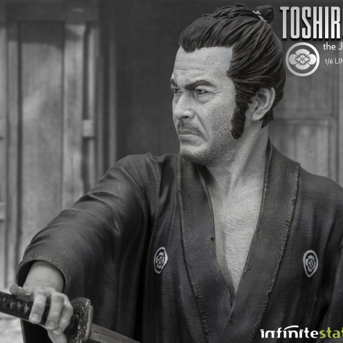 Toshiro Mifune Old&Rare 1/6 Resin Statue - 9