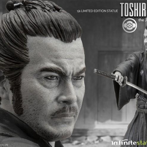 Toshiro Mifune 1/6 Limited-Edition resin statue-11