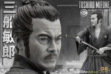 Toshiro Mifune Old&Rare 1/6 Resin Statue - 10