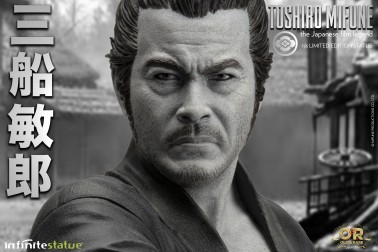 Toshiro Mifune 1/6 Limited-Edition resin statue-12