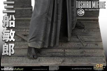 Toshiro Mifune Old&Rare 1/6 Resin Statue - dettaglio piede