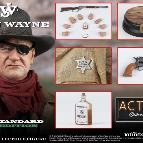 JOHN WAYNE 1/6 ACTION FIGURE