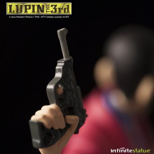 Statua Edizione Limitata Lupin III in resina dipinta a mano - 11
