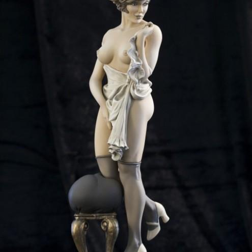 Statua di Mona Street UL colorazioneseppia - 2