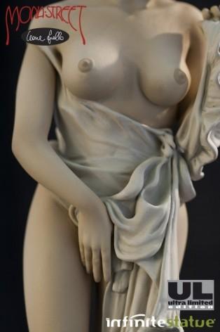 The statue of Mona Street UL sepiacolouration - 4
