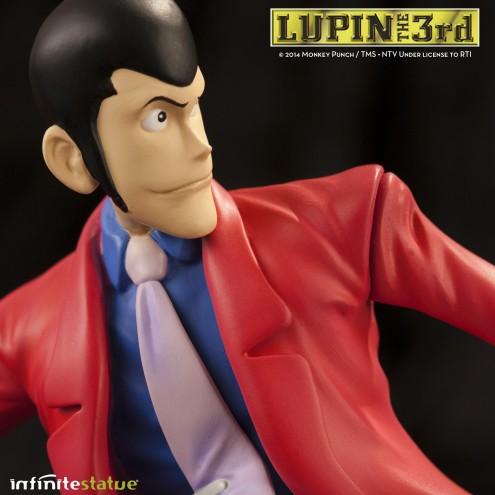 Statua Edizione Limitata Lupin III in resina dipinta a mano - 12
