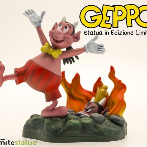 Geppo statua in edizione limitata - 2