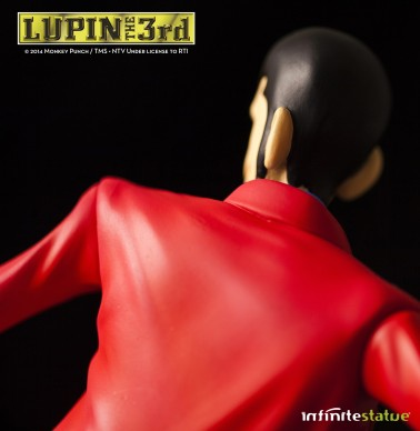 Statua Edizione Limitata Lupin III in resina dipinta a mano - 14