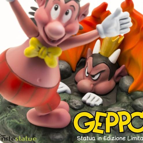 Geppo statua in edizione limitata - 5
