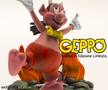 Geppo statua in edizione limitata - 6