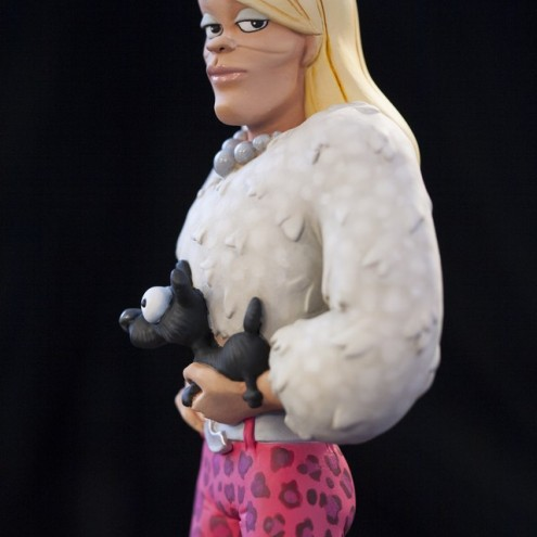 Rat-Man Infinite Collection | The statue ofCinzia Otherside - 3