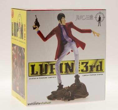 Statua Edizione Limitata Lupin III in resina dipinta a mano - 15