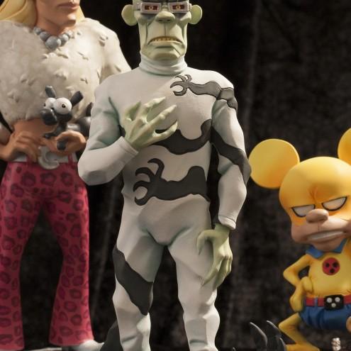 Rat-Man Infinite Collection | The statue ofJanus Valker - 8