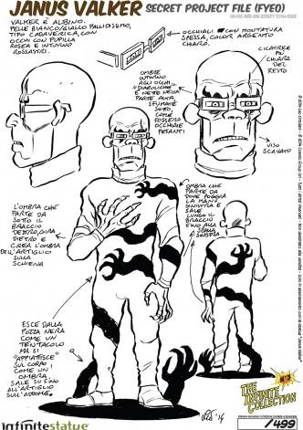 Rat-Man Infinite Collection | The statue ofJanus Valker - 10