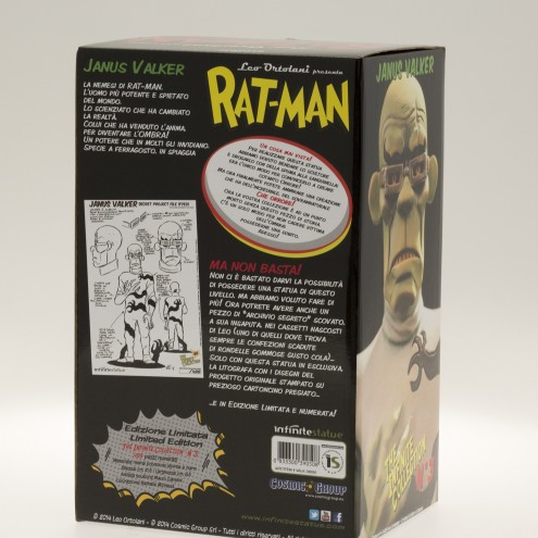 Rat-Man Infinite Collection | The statue ofJanus Valker - 12