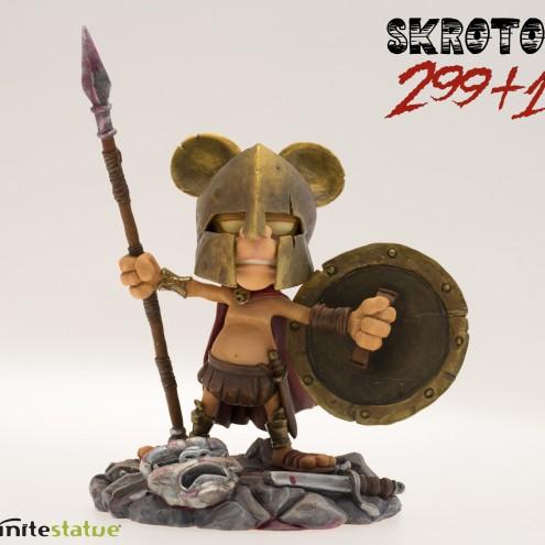 Rat-Man Infinite Collection | The statue ofSkrotos da 299+1 - 1